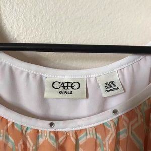 Cato Shirts & Tops - Cato Girls Blouse